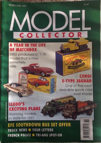 ORIGINAL MODEL COLLECTOR MAGAZINE February 1997
